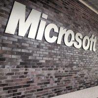 napis Microsoft