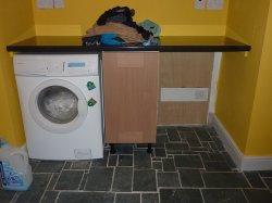 pralka w pralni
